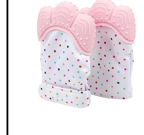 guante mordedera silicon dientes dentición bebé bebe juguete