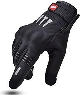 guante moto abrigo mad bike . city con protecciones.