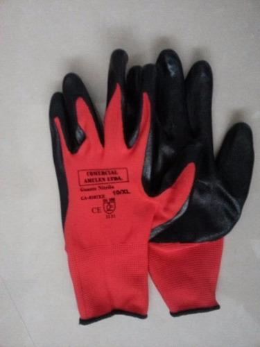 guante multiflex palma nitrilo, paquete por 12 unidades