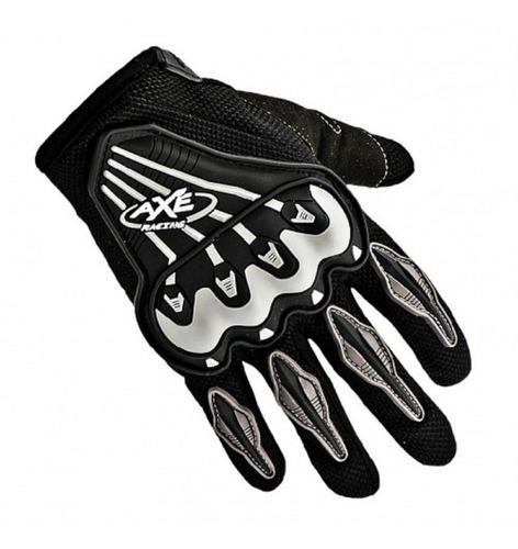 guante para motociclista axe racing