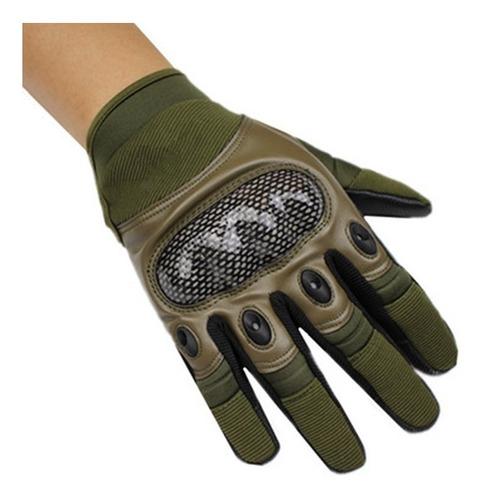 guante tactico talla m color verde