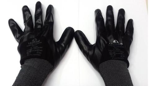 guante tactil multiuso talle 9 bañado en nitrilo