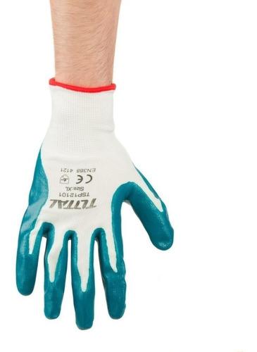 guante tactil nitrilo xl total maxima sensibilidad resistent