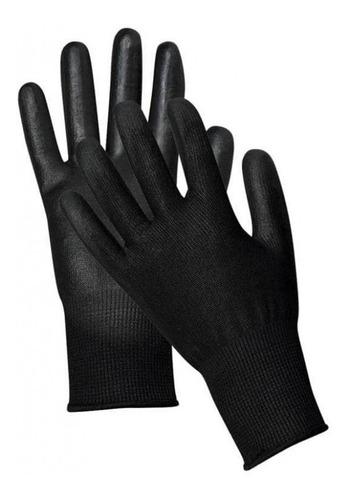 guante tactil poliuretano alta sensibilidad de poliester