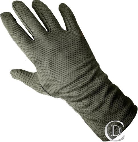 guante térmico primera piel invierno colores verde negro