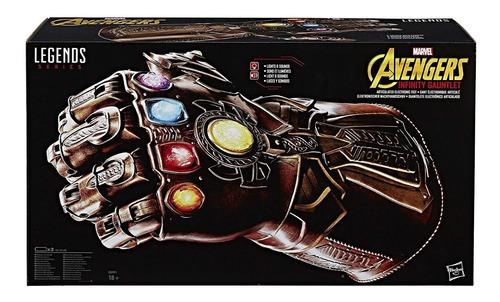 guante thanos oficial avengers infinity war hasbro / diverti