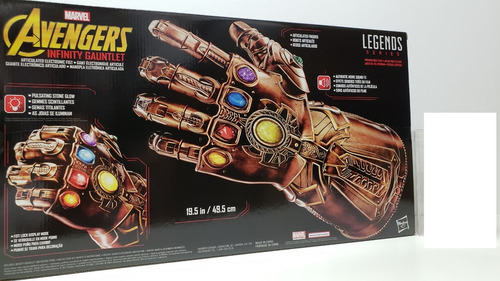 guantelete thanos marvel legends guante infinito avengers