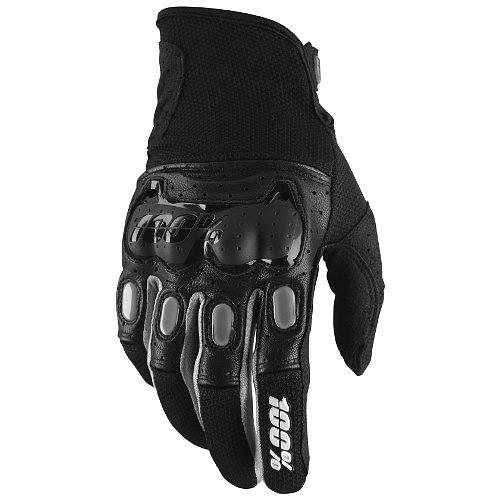 guantes 100% 2016 derestricted puño corto negros sm
