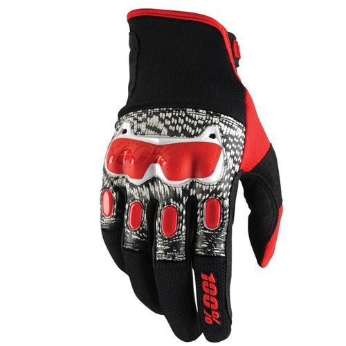 guantes 100% 2016 rojos lg