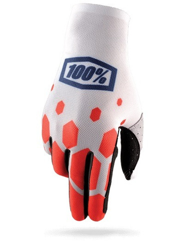guantes 100% celium legacy mx/offroad rojo md