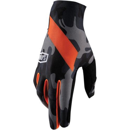 guantes 100% celium slant hombre mx/offroad camo md