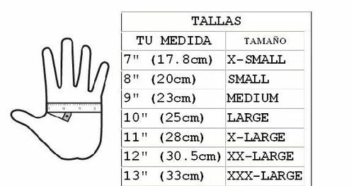 guantes 4.5 mm beuchat apnea y pesca talla grande