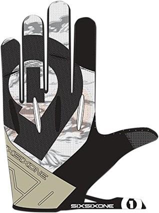 guantes 661 six six one evo 2016 mx/offroad, blanco/negro sm