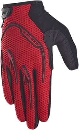 guantes 661 six six one recon 2016 mx/offroad, rojo/negro xl