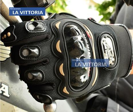 guantes antideslizante comodos para motociclistas