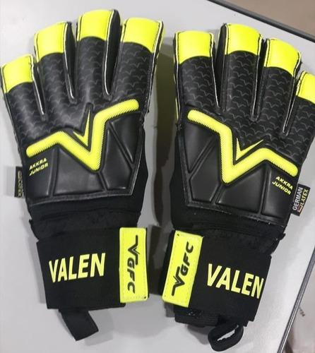guantes arquero akkra jr niño profesionales vgfc volk personalizalo gratis