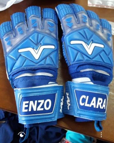 guantes arquero blue profesion vgfc volk personaliza gratis