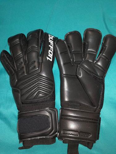 guantes arquero buffon raptor negros profesionales talla 8