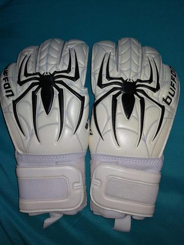 guantes arquero buffon spider aqua profesionales talla 8