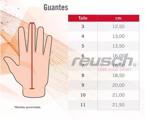 guantes arquero reusch ranger forever palma latex 3mm super