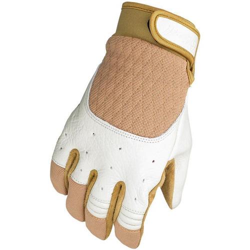 guantes biltwell inc. bantam blanco/bronceado md
