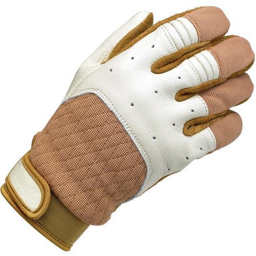 guantes biltwell inc. bantam blanco/bronceado sm
