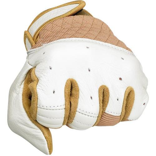 guantes biltwell inc. bantam blanco/bronceado xl