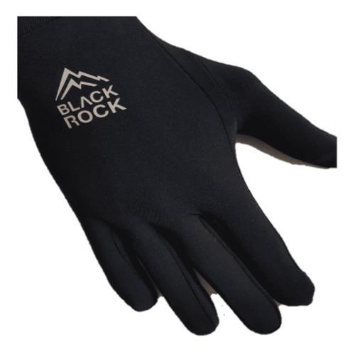 guantes black rock liner primera piel tactil celular