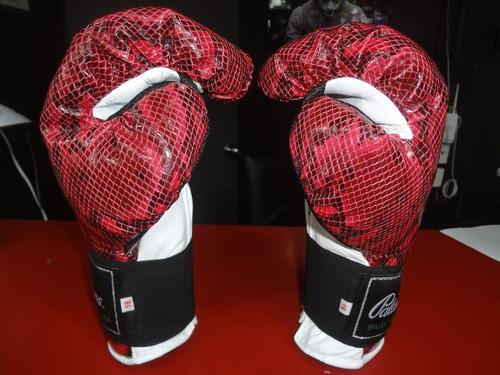 guantes box edicion snake rojo 12, 14 y 16 oz  palomares fpx