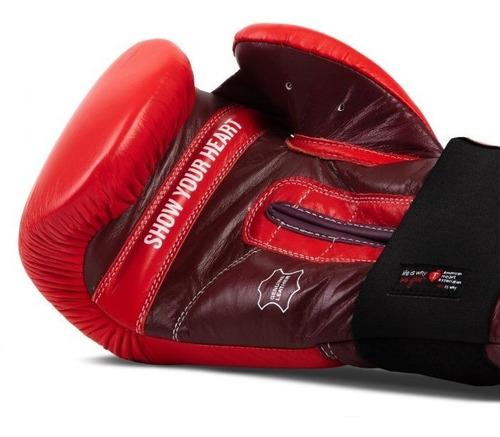 guantes box title aha 12,14 y 16  piel vendas de regalo fpx