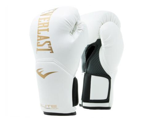 guantes boxeo 12 oz everlast elite entrenamiento saco tula