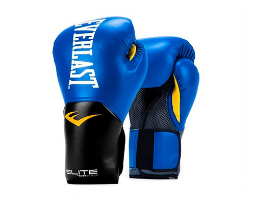guantes boxeo 16 oz everlast elite entrenamiento saco tula