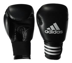 Color Negro//Rojo adidas Power 100/Guantes de Boxeo 6/oz