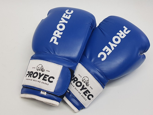 guantes boxeo classic proyec box kick muay thai velcro