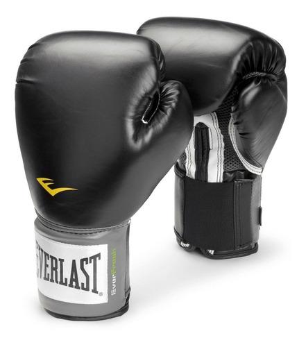 guantes boxeo kick boxing everlast pro style negros