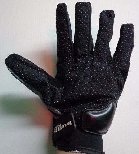 guantes bullet protección en nudillos