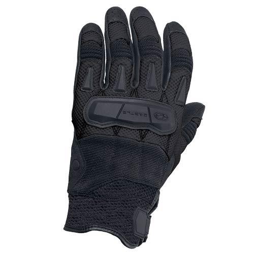 guantes castle streetwear blast c/flujo de aire negro sm