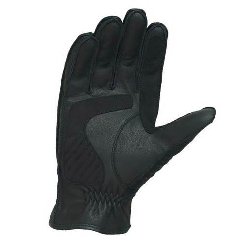 guantes castle streetwear cuero deluxe verano negro xl
