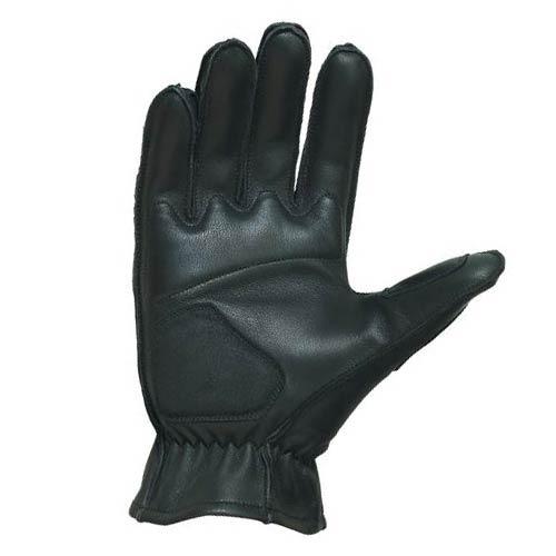 guantes castle streetwear estándar de cuero negro xs