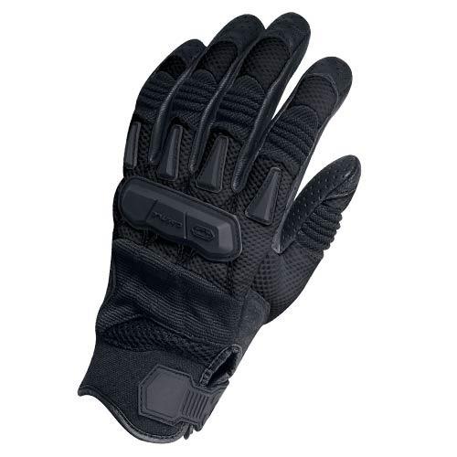 guantes castle streetwear la explosión de la mujer negro xl
