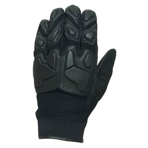 guantes castle streetwear sport malla negro 2xl
