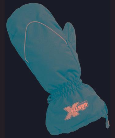 guantes castle x racewear platform niño pequeño negro 2t