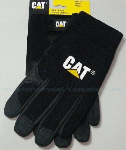 guantes caterpillar negros de trabajo originales