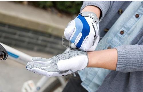 guantes ciclismo original gel protección riding  mtb visa