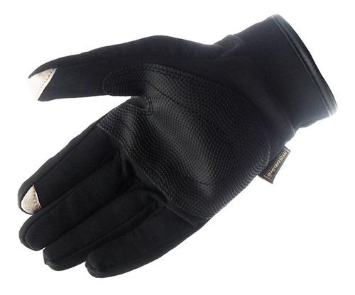 guantes city semi impermeable táctil protección moto