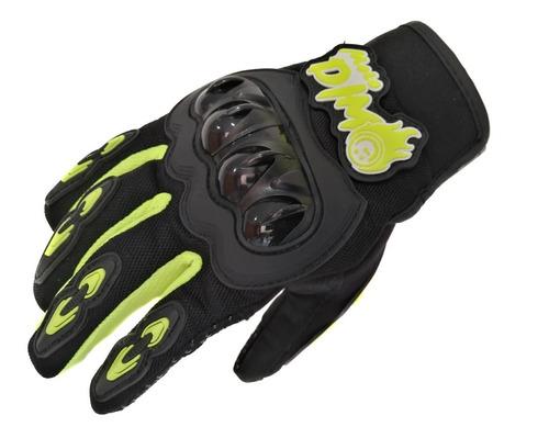 guantes con protección dimo moto racing gloves