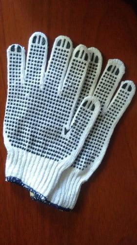 guantes con puntos pvc