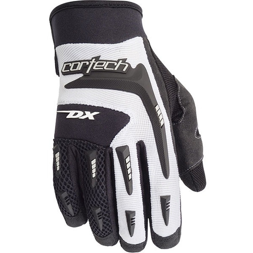 guantes cortech dx 2 blanco sm p/mujer