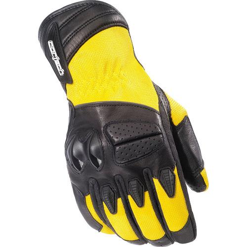 guantes cortech gx air 3 tela amarillo sm