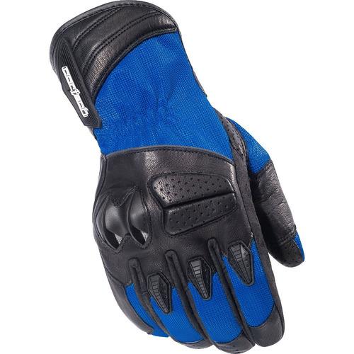 guantes cortech gx air 3 tela azul md